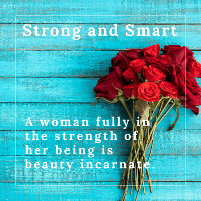 Strong and Smart by Marlayna Fire
