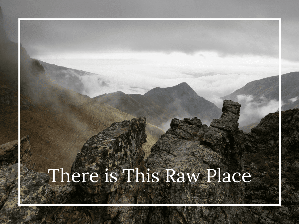 There is This Raw Place by Marlayna